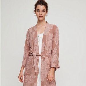 NWT Wilfred Durante kimono jacket nutmeg - small